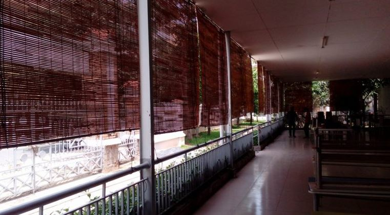 Mành tre trúc giá rẻ chống nắng ngoài hành lang